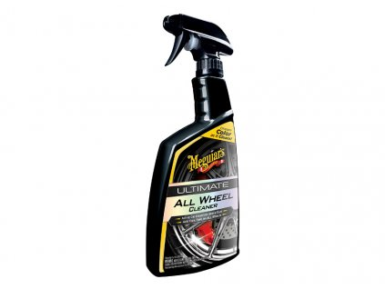 Meguiars Ultimate All Wheel Cleaner pH neutralni cistic na kola s prebarvovanim do fialova 710 ml 2018125124638
