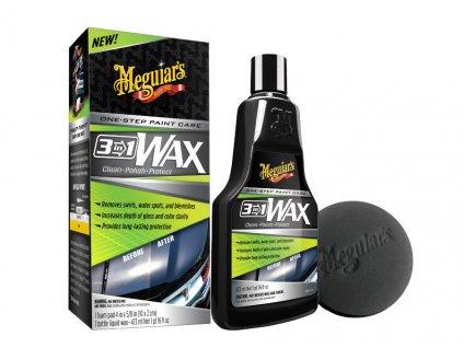 G191016 meguiars 3 in 1 Wax lestenka s voskem 3 v 1 473 ml