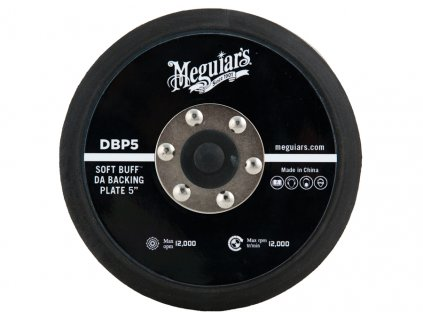 dbp5 meguiars da backing plate 5