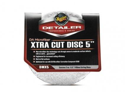 dmx5 meguiars da microfiber xtra cut disc 5 1