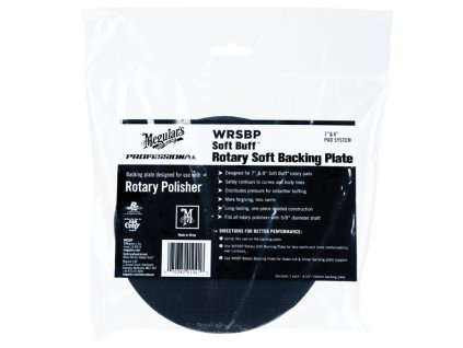 wrsbp meguiars soft buff rotary soft backing plate 1