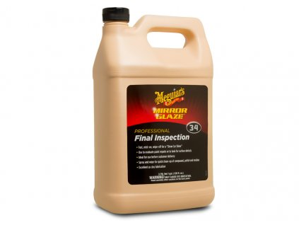 m3401 meguiars final inspection