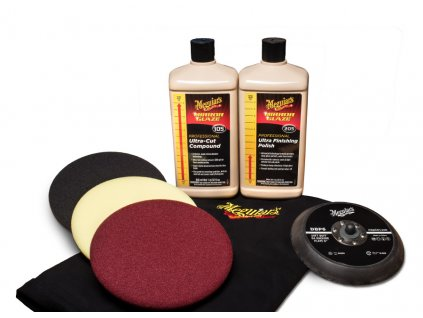 mgkit6 meguiars mirror glaze soft buff kit 6