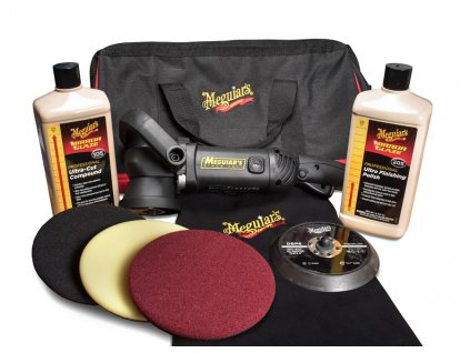 mgkit6da meguiars mirror glaze soft buff da kit 6
