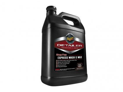 d11501 meguiars rinse free express wash and wax
