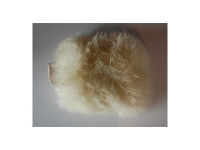 Dodo Juice Supernatural 'Yeti' dlouhosrstá mycí rukavice z ovčí kůže