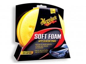 Meguiars Soft Foam Applicator Pads pěnové aplikátory (2 kusy)