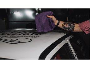 Auto Finesse Micro Tweed Towel mikrovláknová leštící utěrka