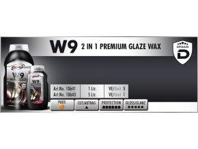 Scholl W9 2in1 Premium Glaze Wax 5L tekutý vosk