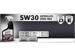 Scholl SW30 Supergloss Speed Wax 500ml rychlovosk