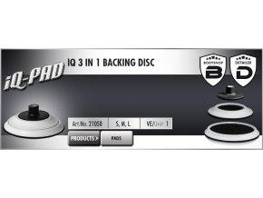 Scholl IQ 3 in 1 Backing Disc 76-150mm M14 unašeč