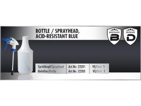 Scholl Bottle 1L for Sprayhead láhev