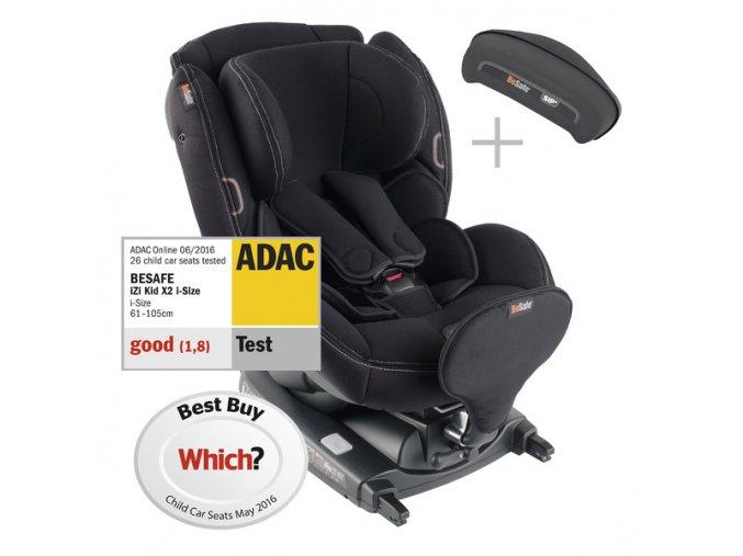 iZi Kid X2 i-Size 2018 Black Car Interior 50