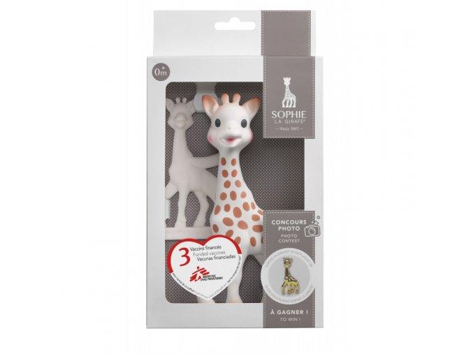 Vulli Žirafa Sophie dárková sada (žirafa + kousátko)