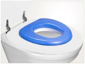 Reer WC sedátko soft modré
