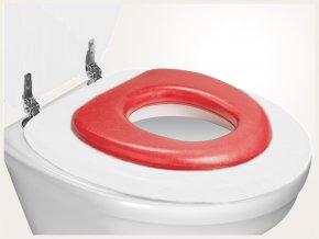 Reer WC sedátko soft červené