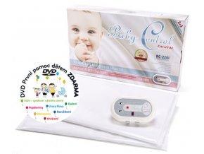 Monitor dechu Baby Control Digital 220i pro dvojčata