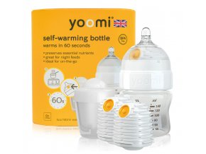 5oz Bottle/2 x Warmer/Teat/Pod 2019 - Y15B2W1P