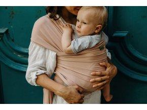 Nosič dětí / šátek Boba Wrap Bamboo Bloom