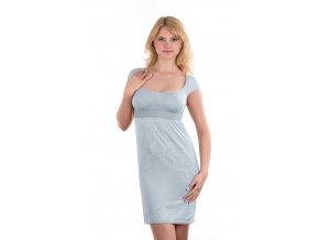 Košilka noční pro kojící ženy  Grey vel.L