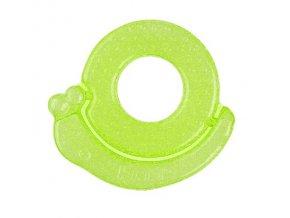 Kousátko chladící šnek - zelená