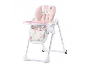 Stolička na jedenie YUMMY pink Kinderkraft