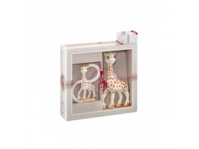 Vulli Dárkový set - žirafa Sophie + kousátko