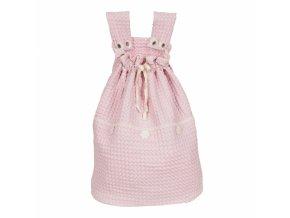Koeka Pytel na hračky Amsterdam - old baby pink
