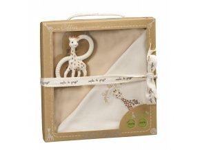 Vulli Dárkový set pro novorozence žirafa Sophie So'Pure