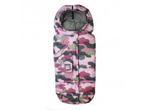 7AM Enfant Blanket 212 Evolution fusak Camo Pink