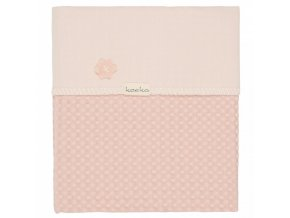Koeka Deka Antwerp 75x100, waffle/flanel, shadow pink/light shadow pink