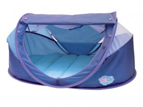 Stan pro miminko anti-UV Nomad modrý