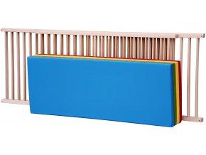 Dětská dřevěná ohrádka Scarlett BRANKO, buk 200 x 140 x 70cm