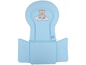 PVC vložka do židliček - Scarlett kombi - modrá