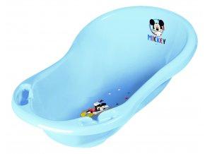 "Dětská vanička 84cm ""Mickey"" se zátkou, Modrá"