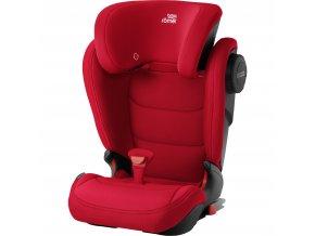 Autosedačka Kidfix III M, Fire Red
