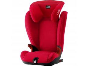 Autosedačka Kidfix SL Black, Fire Red