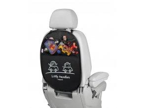 Babypack Organizér/ochrana sedadla,černý