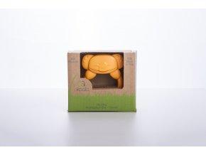 eKummy BIO plast kousátko, oranžová