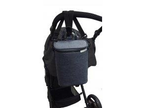 URBI termo taška na 2lahvičky indigo