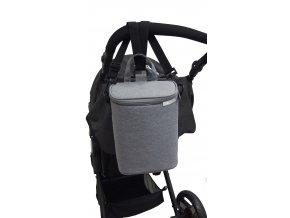 URBI termo taška na 2lahvičky platine
