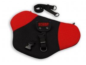 Pás Comfort ISOFIX pro těhotné, červený