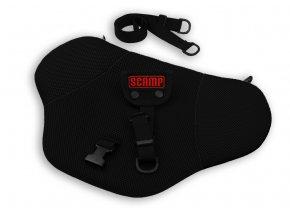 Pás Comfort ISOFIX pro těhotné, černý