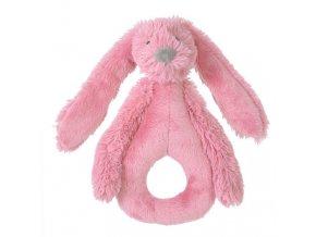 Happy Horse Chrastítko králíček Richie malinové Velikost: 18 cm