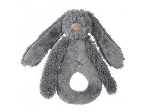 Happy Horse Chrastítko králíček Richie šedé  Velikost: 18 cm