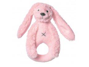 Happy Horse Chrastítko králíček Richie růžové  Velikost: 18 cm
