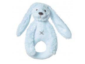 Happy Horse chrastítko králíček Richie modré  Velikost: 18 cm
