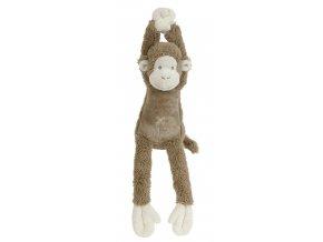 Happy Horse hudební opička Mickey hnědá  Velikost: 40 cm