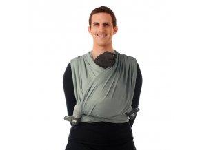 BB-SLEN šátek na nošení dětí col. 990 grey violet