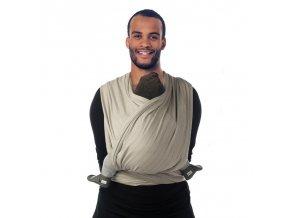 BB-SLEN šátek na nošení dětí col. 920 warm taupe